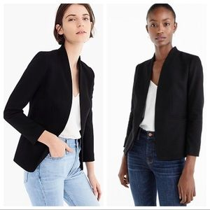 J Crew going-out blazer in stretch twill